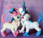 Sylveon pre-orders! by ShiroTheWhiteWolf