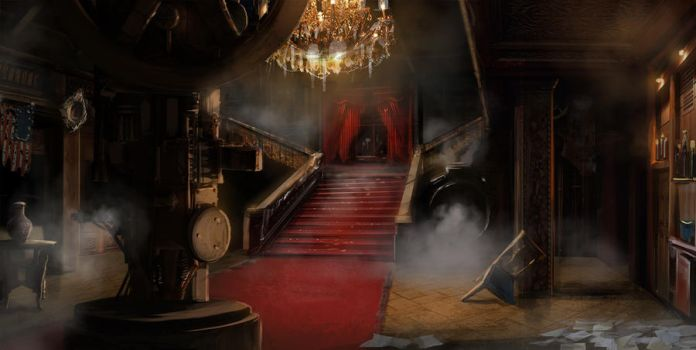 BlackRush interior mansion by Gycinn