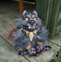 Spirit of the Forest - OOAK doll by bt-v