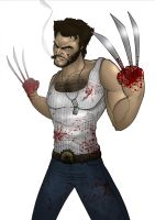 Wolverine by nick-tyrrell