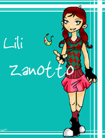 PsychoNauts: LILI ZANOTTO by IrregularChild