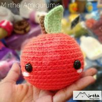 orange Amigurumi by MirthaAmigurumis