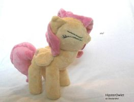 Fluttershy Plushie - Yay! by HipsterOwlet
