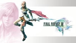 FFXIII Lightning Wallpaper by friedChicken365