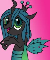 Filly Chrysalis by FeralRoku