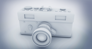 Camera 3d model by Arslan-Ali-Khaskheli
