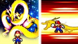 Mario's Star Dragon Fist by KingAsylus91