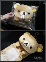 Rilakkuma Wall Storage Bag by Kuliii