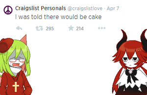 I was told cake by DECElVE