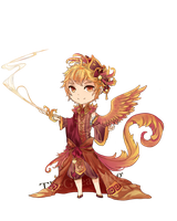 Adoptable auction - one winged pheonix  (CLOSED) by EpicPing