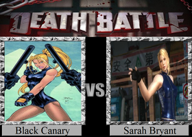 Black Canary vs. Sarah Bryant by JasonPictures