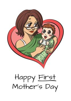 My wife's very first Mother's Day by alexsanlyra