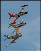 Korean War Combatants by AirshowDave