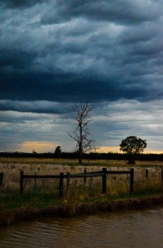 back roads of country Australia by CHIEFironhawk