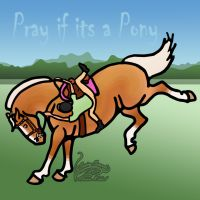 Pray if it's a Pony by SavingSeconds