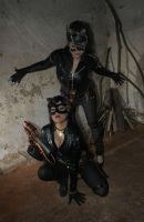 Catwoman Steampunk by laurakyonlee