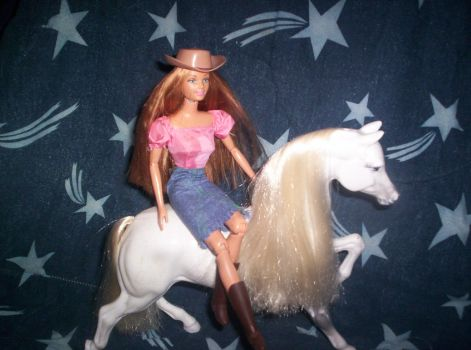 The cowgirl by onilen