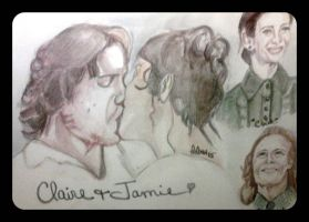 Claire and Jamie the Clamie Ship by fbforbill