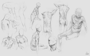 Figure Drawing Class 7 by AaronGriffinArt