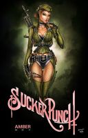Sucker Punch: Amber, J. Tyndall by sinhalite