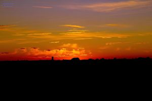 Colorful Sunset I HDR by digswolf