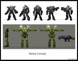 Marine concept $ turn-around by wyd1985