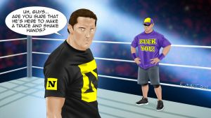 Barrett and Cena: a truce? by Roselyne777