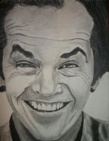 Jack Nicholson Drawing by SCRUBZLOTUS