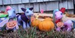 My Little Pony Trick or Treating by johnpaulgeorgeringo6