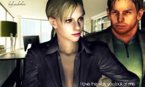 chris and jill by lady-pokerface