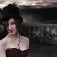 *Desiree* Vampire necklace 2 by Arctida