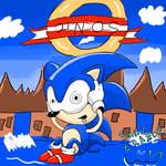 Lets play Sonic Erazor 1/7 Title card by Silva-silva