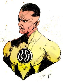 Sinestro by Haining-art