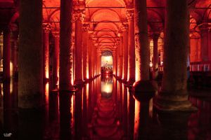 The Basilica Cistern by valiunic