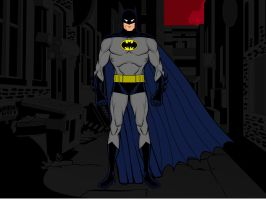 Batman TAS Concept by gpnightowl96