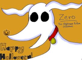 Zero the Ghost Dog by DRei-chan