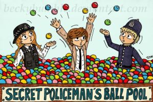 The Secret Policeman's Ball Pool by BeckyBumble