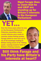 Farage the liar by Party9999999