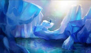 Glaciers by Anako-ART