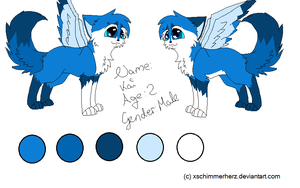 New Ref for Kai :3 by Lalaloraa