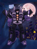 Skywarp by Kuriko-san