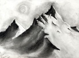 Mountian Sketch by FrenchTrotter