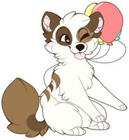 fluffy chibi by foxpets