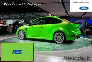Ford Focus RS Wallpaper by Mitch-94