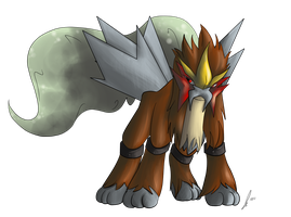 PC Entei by jaclynonacloud