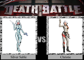 Silver Sable vs. Christie by JasonPictures