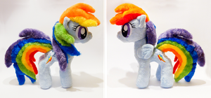 Rainbow Dash in need of a new home by mmmgaleryjka