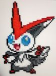 Victini perler bead #13 by isaletheia