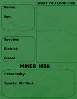 Miner High - Application Form by ThaliaKal