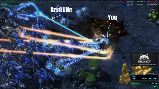 You VS Real Life by FirefoxChrome